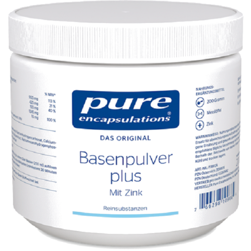 PURE Basenpulver plus 200 g