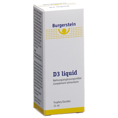 Burgerstein Vitamin D3 liquid 11 ml