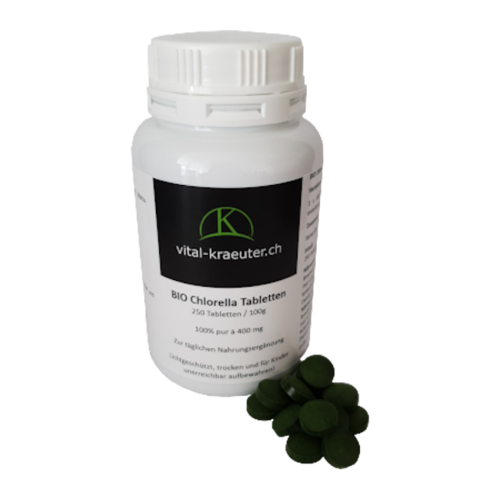Bio Chlorella 250 Tabletten 100g